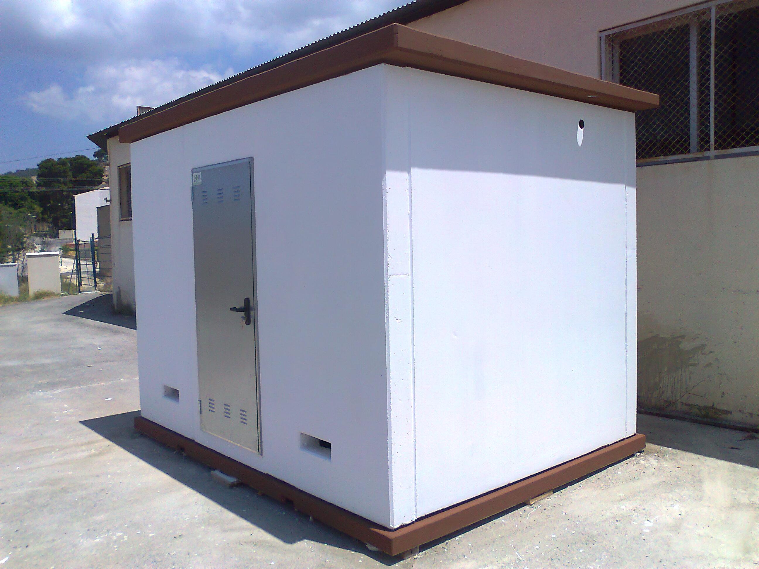 Fotos de casetas de hormigon prefabricado casetas - Prefabricadas de hormigon ...
