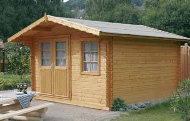 Fotos de casas casetas de madera para jard n desde 700 for Casetas madera segunda mano para jardin
