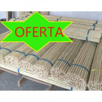 Foto de Tutores de Bambú de 150 Cm.12/14 Mm, 250Pcs