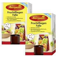 Foto de Pack de 2 Trampas Aeroxon para Moscas y Mosquitos de la Fruta