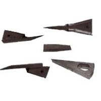 Foto de Botas Subsolador . Cuchillas para Arados, Rotovatores, Gradas Rotativas