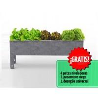 Foto de Mesa de Cultivo Parvus 40 Acero Galvanizado   Huerto Urbano