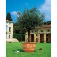 maceta grande para arboles de resina olivo x cm