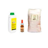 Foto de Pack Tierra de Diatomea (20 Kg), Nackentropfen (10 Ml) y Solupioj (5 L) | Productos para el Piojo de las Gallinas | Acabar con el Ácaro Rojo