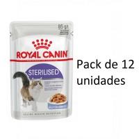 Foto de sobre 85g Royal Canin Sterilised 12 Sobres para Gatos Adultos Esterilizados (Gelatina)