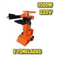 Foto de Astilladora 220V 8 Toneladas Vertical