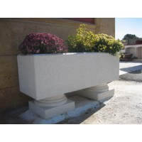 jardinera 140x45x45 de hormign arquitectnico - Jardineras De Hormigon