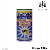 Foto de Extincida Polvo 500g Jardineria Domes Cucarachas,chinches,pulgas,hormigas,arañas