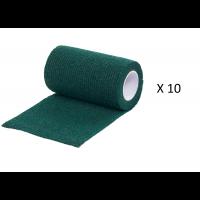 Foto de Pack Ahorro 10 Rollos de Vendaje Flexible para Animales Vet-Flex Color Verde