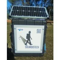 Foto de Planta Desinfección de AGUA Solardistech Rugged