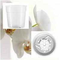 Foto de 10 Macetas Transparente Especial Orquídeas.  11,4 Cm (0,74 L)
