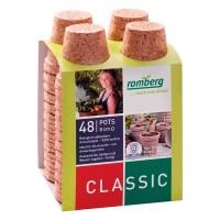 Foto de Pack de 48 Macetas Biodegradables Fibra de Coco. 8 Cm