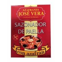 Foto de Sazonador de Paella. Exquisita Mezcla de Especias con Azafrán