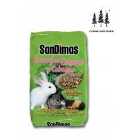 Foto de Alimento Completo Equilibrado Conejos Enanos y Cobayas Sandimas 900g con Vitaminas y Minerales