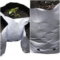 Foto de 200 Bolsas Blancas para Cultivo.  3,8 L.