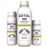 Foto de PACK 2x Zotal Zero Desinfectante de Uso Doméstico E Industrial con Olor a Limón 250 Ml