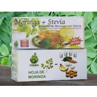 Foto de Infusión de Moringa con Stevia