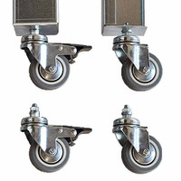 kit 4 ruedas para mesa de cultivo mediana y grande | mesas y ... - Ruedas Para Mesa