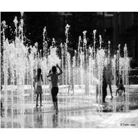 Foto de Fuente en KIT Waterboy Chorro Lanza LED Blanco