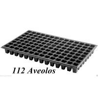 Foto de Bandeja Semillero de 112 Celdas. Germinación Invernadero. 112 Alveolos