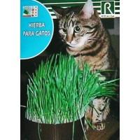 Foto de Hierba de Siembra para Gato. 10 Gr/4000 Semillas. Solo Siembra.