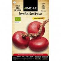 Foto de Cebolla Roja de Zalla. Semillas Ecológicas 1 Gr