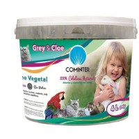 Foto de Papel Absorbente Vegetal para Hurones, Ardillas y Chinchillas Grey & Cloe 2 Kg