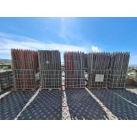 Foto de Palo, Estaca, Tutor, Perfil Redondo con Punta 6,40 Cm Ø , 2,4 Metros *100% Plástico Reciclado*