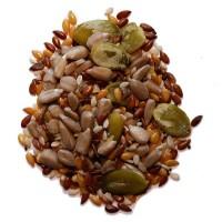 Foto de 1 Kilo de Mix Seis Semillas. se Puede Añadir a un Sin Fin de Alimentos