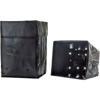 Foto de 30 Bolsas de Plástico Negro LPDE para Cultivo. 2 L
