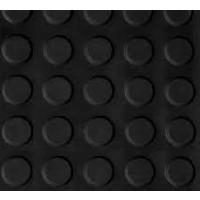 Foto de Pavimento Circulo Negro 3 MM por Rollo (1,5X15 M)