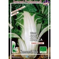 Foto de Semillas Ecológicas de Acelga de Penca Blanca Argentata - 300 Semillas