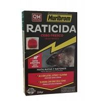 Foto de Cebo Fresco Raticida Muribrom 150g Veneno contra Ratas Ratones Super Atrayente