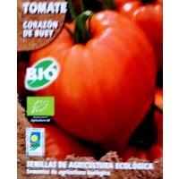 Foto de Tomate Corazón de Buey. Cultivo Ecologico. 0,2 Gr / 60 Semillas