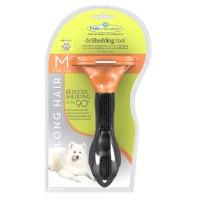Foto de Furminator Deshedding Cepillo para Perros Medianos (M) de Pelo Largo Eliminador de Pelo Muerto