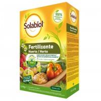 Foto de Fertilizante Granulado para Huerta Solabiol 1,5Kg (Apto para Agricultura Ecológica)