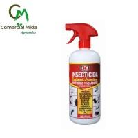 Foto de Insecticida Calidad Premium 1L - contra Rastreros y Voladores (Acción Inmediata)