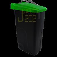 Foto de Contenedor Denox Eco 110 Litros Tapa Verde