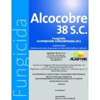 Foto de Alcocobre 38 SC Azul, Fungicida Agriphar-Alcotan