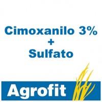 Foto de Cimoxanilo 3% + Sulfato Cuprocálcico 22,5%, Fungicida Agrofit
