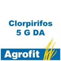 Foto de Clorpirifos 5 G da, Insecticida Agrofit