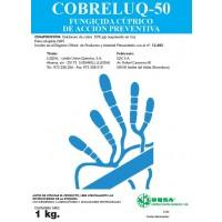 Foto de Cobreluq-50, Fungicida Bactericida Luqsa