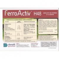 Foto de Ferroactiv H48, Quelato de Hierro Deretil