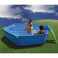 piscina infantil con tobogn diagonal y profundidad cm y cm