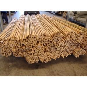 Foto de Tutor de Bambú Macizo Tailandés. 240 Cm. 18/20 Mm