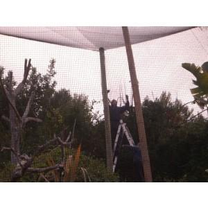 Foto de Redes para Voladeros, Aviarios, Antipajaros, Antipalomas, Parques de Vuelo.