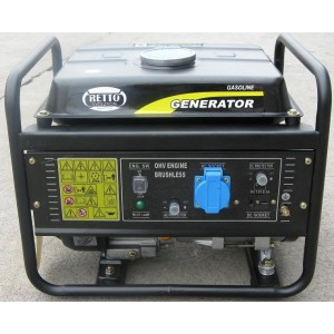 Foto de Generador Eléctrico bajo Consumo 1200W de Pico Motor Ohv
