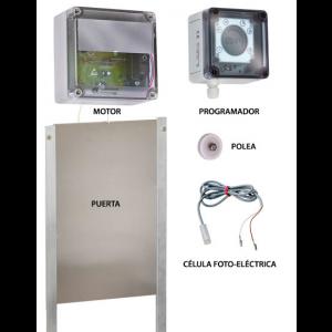 Foto de Kit Puerta Automática para Gallinero 40X33 Cm