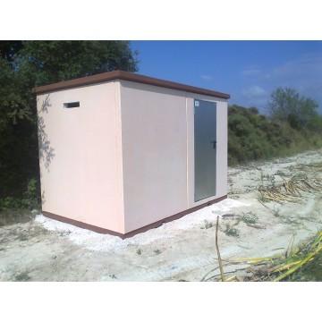Casetas de hormigon prefabricado almac n y silos - Prefabricadas de hormigon ...