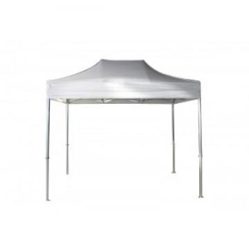 Carpa plegable de aluminio con techo reforzado mod b sico for Casetas de aluminio